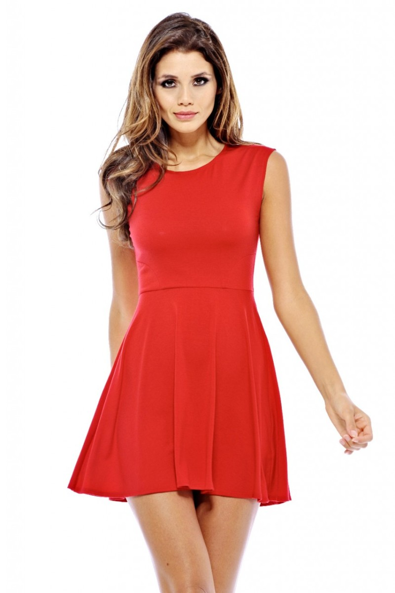 kırmızı elbise 2