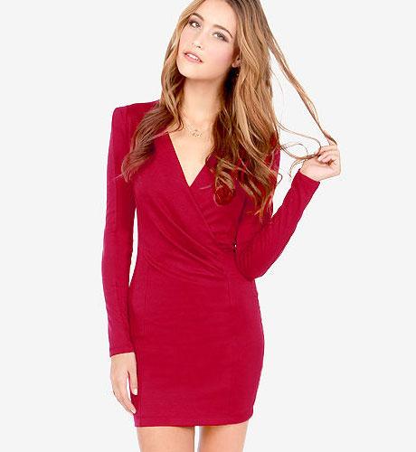 kırmızı elbise 5