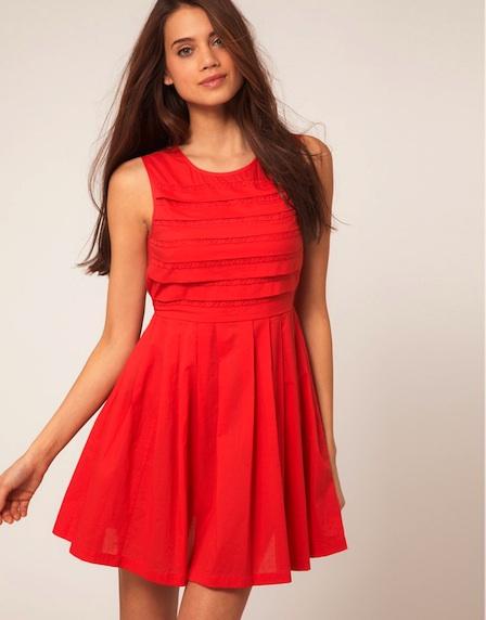 nasıl çekici olabilirim- kırmızı elbise - 2013