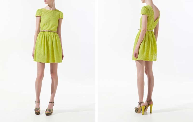 yeşil elbise 10