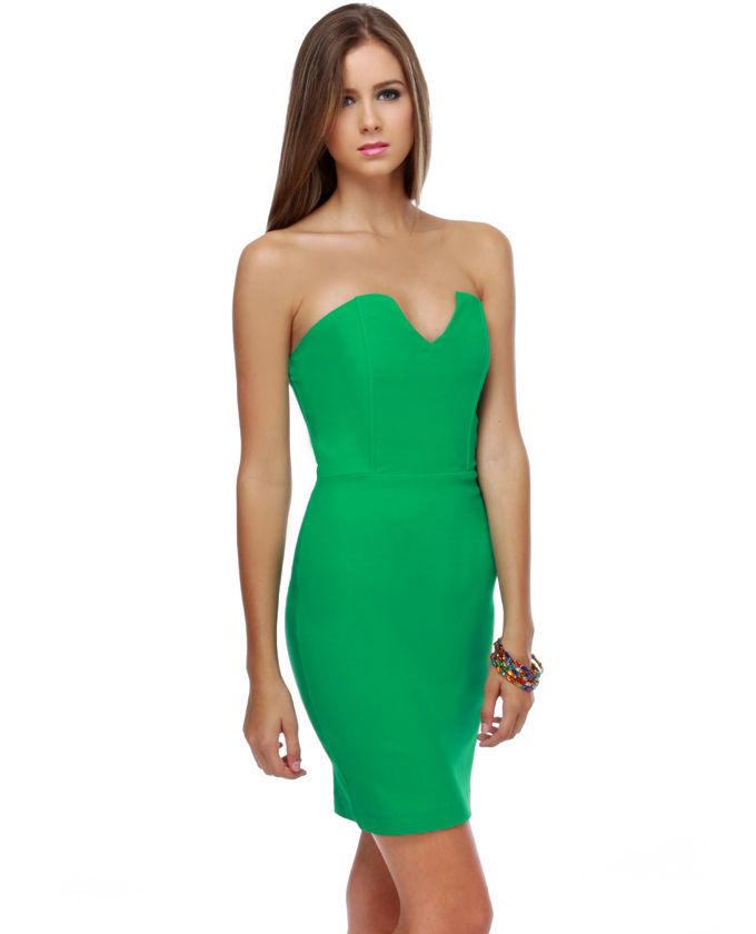 yeşil elbise 3