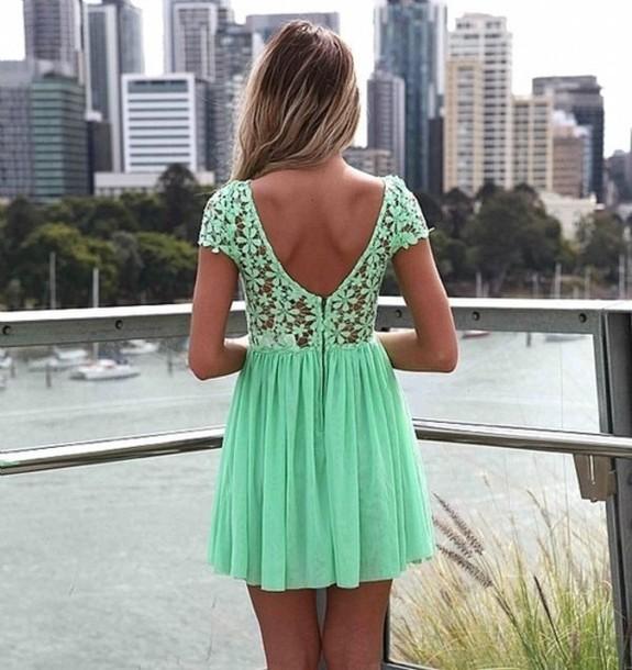 yeşil elbise 6