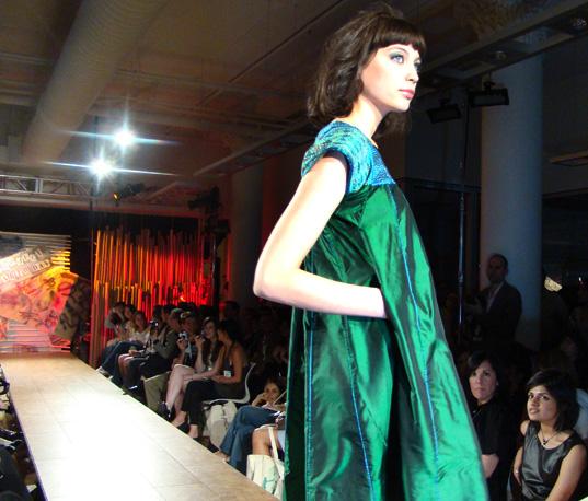 yeşil elbise 9
